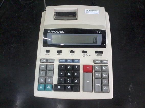 Calculadora Procalc Lp45 Revisada Semi-nova Garantia 120dias