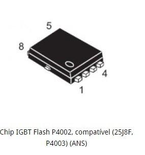 Chip Igbt 4002 , 4003 Flash Chip Câmera Digital