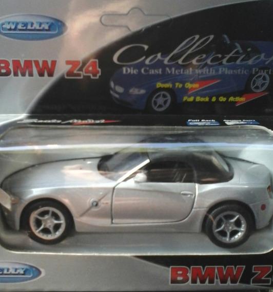 Auto Welly Bmw Z4 Coupe Convertible Esc.1:36 Metal Rdf1