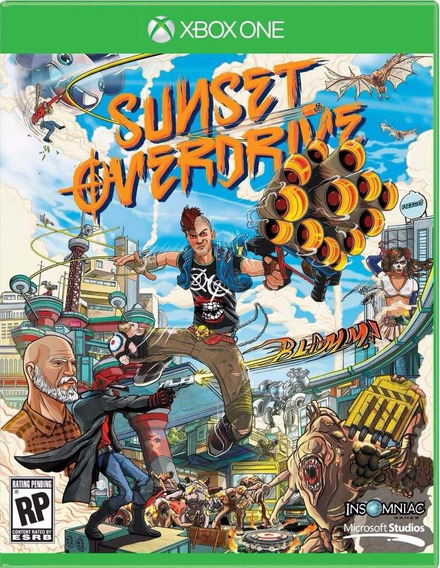 Sunset Overdrive ( Midia Fisica Dublado) - Xbox One