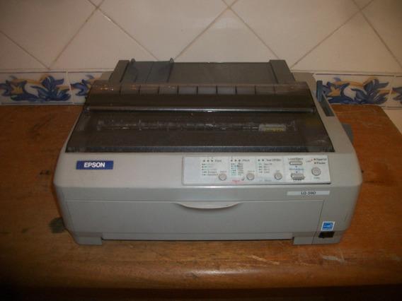 Impressora Matricial Epson Lq 590 Usada (24 Agulhas) Tatoo