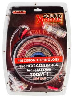 Kit De Cables Para Instalar Potencias 1500w Con Fuse Y Rca