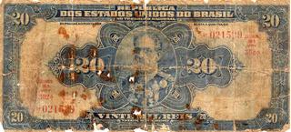 Cédula Vinte Mil Réis R 119 No Estado
