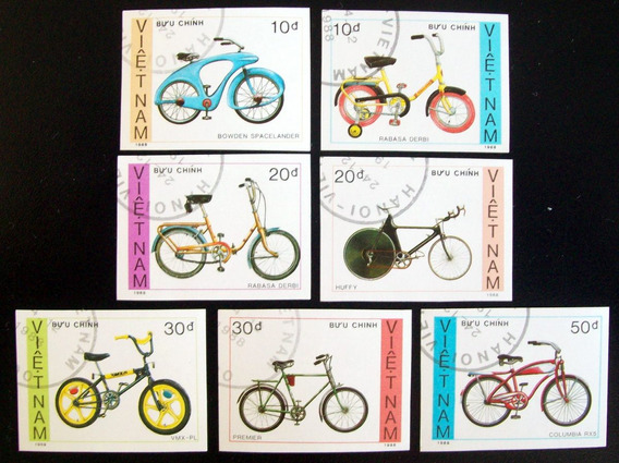 Vietnam, Bicicletas Sc. 1957-63 S Dentar 88 Usada L6387