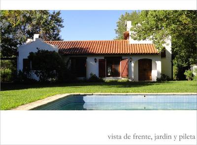 Z Norte Dueño Alquila Casa/quinta P/6p Pileta Y Jacuzzi