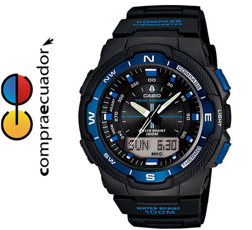 Casio Sgw-500h Reloj Brújula Termómetro Oferta W7