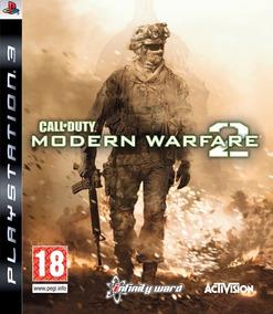 Call Of Duty Modern Warfare 2 Jogo Ps3 Mídia Física Cod Mw2