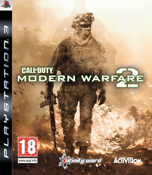 Call Of Duty Modern Warfare 2 Jogo Ps3 Playstation 3 Cod Mw2