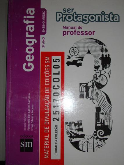 Livro Ser Protagonista - Geografia - Ensino Médio - 3º Ano