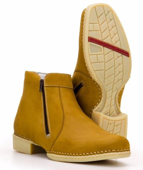 Botina Masculina Country Macia Cano Curto Capelli Boots