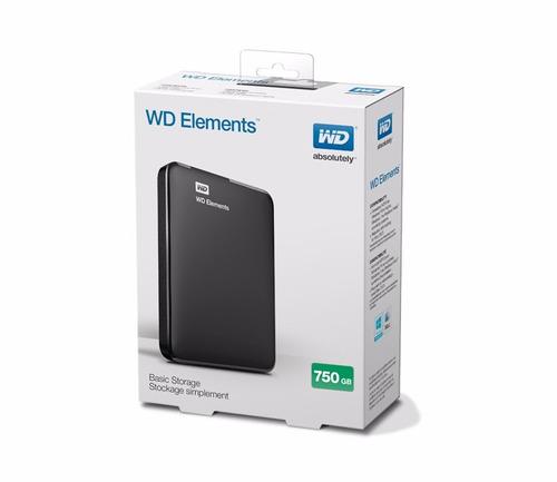 Disco Duro Externo Western Digital - 750 Gb - Envio Gratis