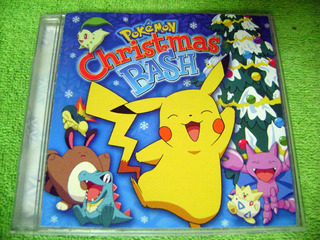Eam Cd Pokemon Christmas Bash 2001 Navidad Edicion Americana