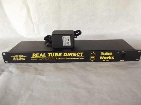 Rack Valvulas E Direct Box Real Tube Direct Rt4002