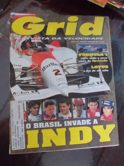 Grid - O Brasil Invade A Indy.lotus..fim De Mito/barrichello