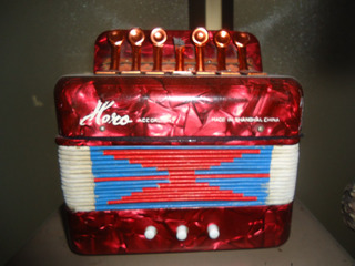 Acordeon Juguete Antiguo