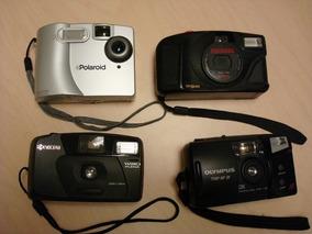 814 Lote Maquinas Fotográficas Polaroid, Yashica, Olympus E