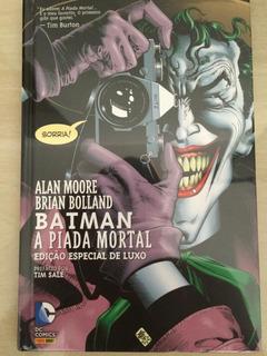 Hq Batman A Piada Mortal Edição De Luxo #frete Grátis #