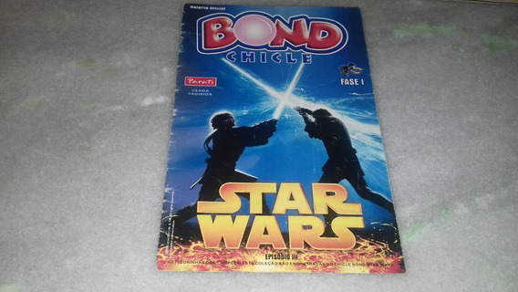 Álbuns De Star Wars Chicle Bond 2005