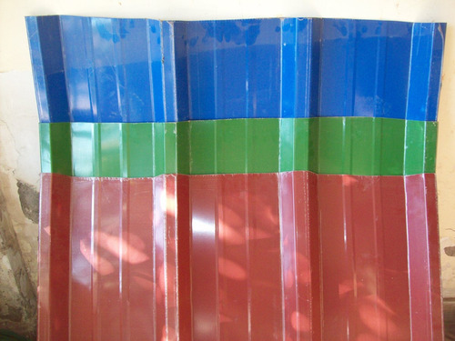 Imagen 1 de 4 de Plancha Zincalum Prepintado 05mm. X Ml