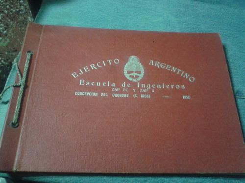 Imagen 1 de 4 de Album Ejército Argentino - Concepción Del Uruguay- 1952