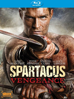 Spartacus: Vengeance Bluray 3° Temporada Serie Epica Roma