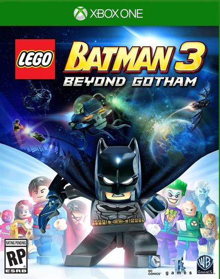 Jogo Novo Lacrado Lego Batman 3 Beyond Gotham Para Xbox One