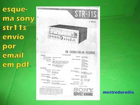 Esquema Receiver Sony Str-11s Str11s Str11 Via Email