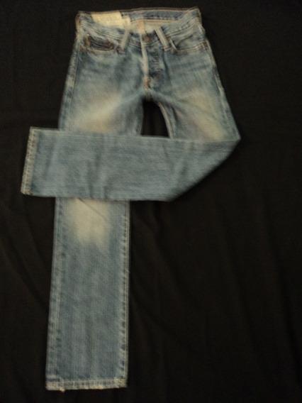 Jeans Abercrombie & Fitch Para Niño T- 8-10 Nuevo Original