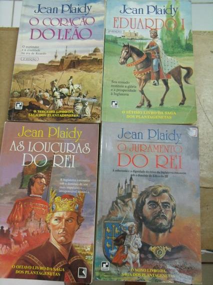 Jean Plaidy 4 Livros Em Bom Estado A Saga Dos Plantagenetas