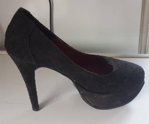 Zapatos Gamuzados N36