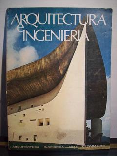 Adp Revista Arquitectura E Ingenieria 1970 Bs As/ Ed Marbes