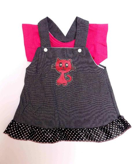 Vestido Bebê Infantil Pronta Entrega