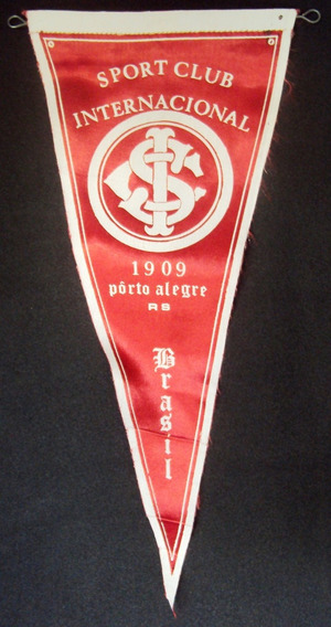 Flâmula Antiga De Futebol Do Sport Club Internacional