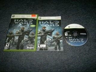Halo Wars Completo Para Xbox 360,excelente Titulo,checalo