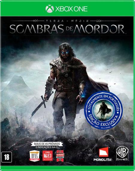 Terra Média Sombras De Mordor - Xbox One - S. G.