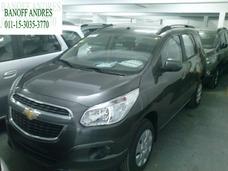 Chevrolet Spin Ltz 7 $189.000 Y Ctas Tasa 0% Novab