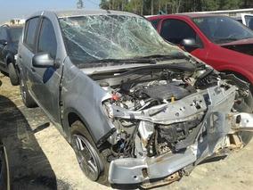Sucata Renault Sandero Techrun 1.6 Mec. (somente Em Peças)