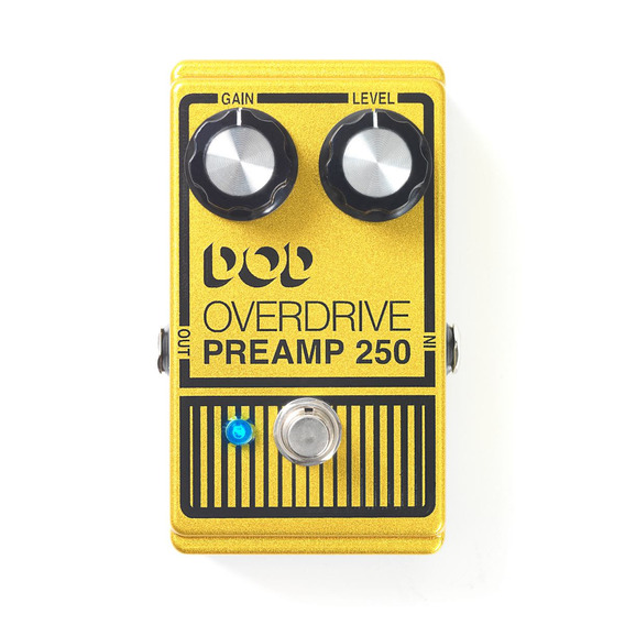 Pedal Dod Overdrive Para Guitarra Preamp 250 Oferta