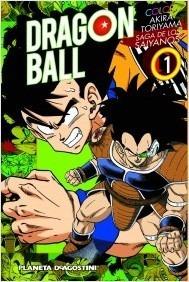 Manga Dragon Ball Color Saga Saiyajin Tomo 01 - Planeta