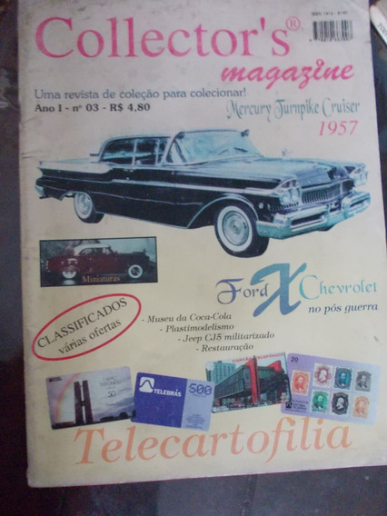 Collector´s - Mercury Cruiser/ford X Chevrolet/miniaturas