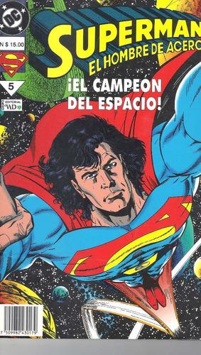 Superman El Hombre De Acero