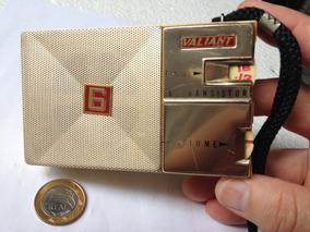 Rádio De Bolso Valiant Am Made In Japan
