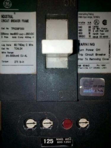 Breaker Trifasico 125 Amp