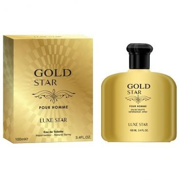 Perfume Gold Star Pour Homme Eau De Toilette 100ml