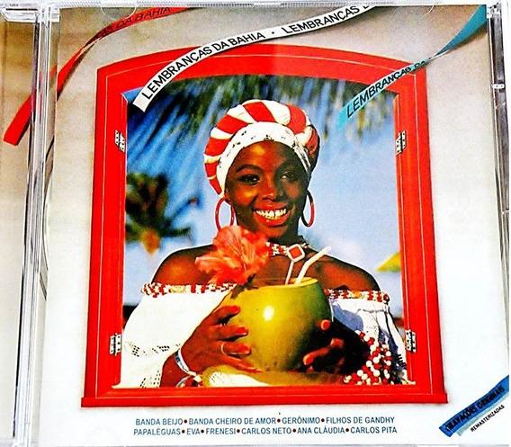 Axé Music Carnaval Coletânea Lembranças Da Bahia Vol. 1 E 2