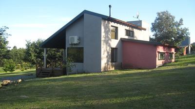 Casa / Cabaña De Descanso Las Glicinas En Las Golondrinas!!!
