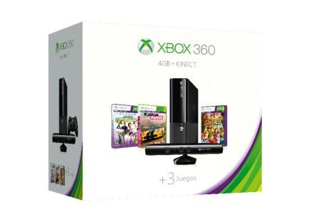 Xbox 360 E 4gb Con Control Inalámbrico + Kinect