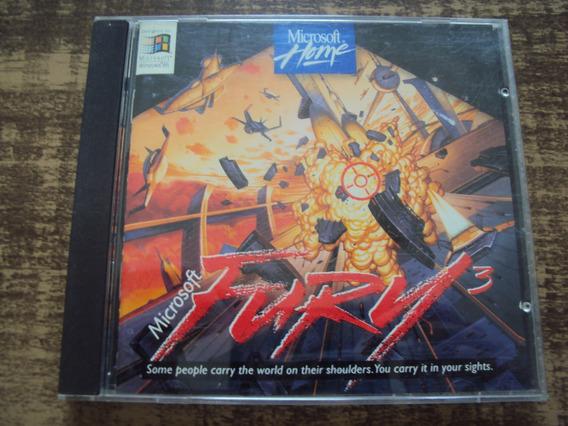 Microsoft Fury 3 - Jogo Para Pc - Raridade
