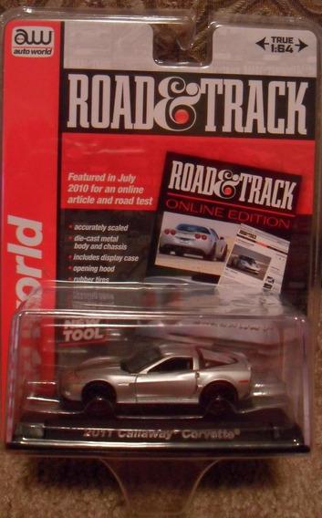 Auto 2011 Callaway Corvette Auto World Retro Colec Meta Rdf1
