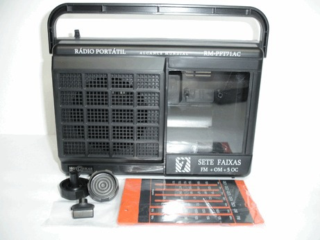 Gabinete Para Radio Motobras 6 Ou 7 Faixas